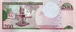 Доминиканская Респ.: 200 песо 2013 г.