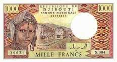 Джибути: 1000 франков (1979 г.)