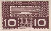 Эстония: 10 пенни (1919 г.)