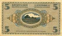 Эстония: 5 марок 1919 г.