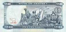 Эритрея: 20 накф 2012 г.
