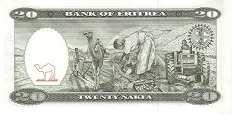 Эритрея: 20 накф 1997 г.