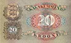 Эстония: 20 крон 1932 г.