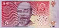 Эстония: 10 крон 2006 г.