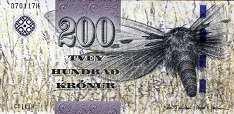 Фареры: 200 крон 2011 г.