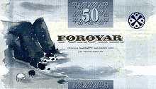 Фареры: 50 крон 2011 г.