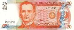 Филиппины: 20 песо (1985 г.)