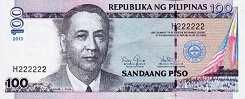 Филиппины: 100 песо 2001-13 г.
