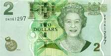 Фиджи: 2 доллара (2011 г.)