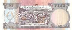Фиджи: 1 доллар (1991 г.)