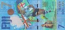 Фиджи: 7 долларов 2016 г. (юбилейная)