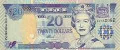 Фиджи: 20 долларов (2002 г.)