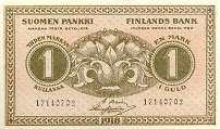 Финляндия: 1 марка 1918 г.