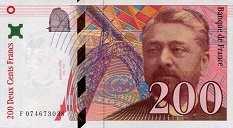 Франция: 200 франков 1996 г.
