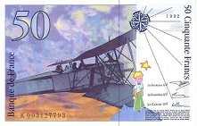 Франция: 50 франков 1992 г.