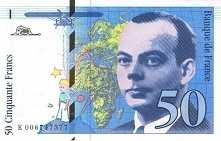 Франция: 50 франков 1993 г.