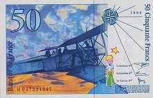 Франция: 50 франков 1999 г.