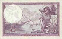 Франция: 5 франков 1933-39 г.
