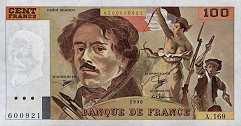 Франция: 100 франков 1978-95 г.