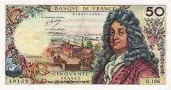 Франция: 50 франков 1962-76 г.