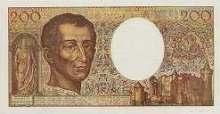 Франция: 200 франков 1981-94 г.