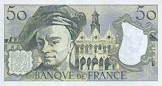Франция: 50 франков 1976-92 г.