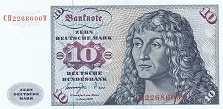 ФРГ: 10 марок 1977 г.