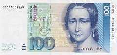 ФРГ: 100 марок 1991 г.