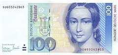 ФРГ: 100 марок 1993 г.