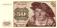 ФРГ: 50 марок 1960 г.