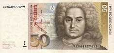 ФРГ: 50 марок 1991 г.