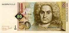 ФРГ: 50 марок 1996 г.