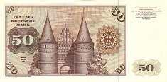 ФРГ: 50 марок 1960-80 г.