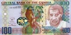 Гамбия: 100 даласи (2006 г.)