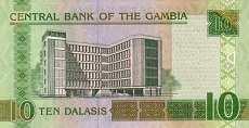 Гамбия: 10 даласи (2006 г.)