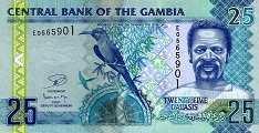 Гамбия: 25 даласи (2006 г.)