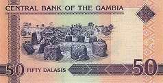 Гамбия: 50 даласи (2006 г.)