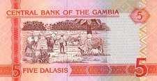 Гамбия: 5 даласи (2006 г.)