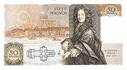 Англия: 50 фунтов (1981-93 г.)