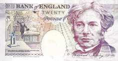 Англия: 20 фунтов 1991-93 г.