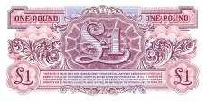 Военные Силы Великобритании: 1 фунт (1948 г.)