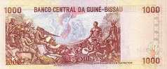 Гвинея-Бисау: 1000 песо 1990-93 г.