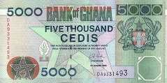 Гана: 5000 седи 1996-2006 г.