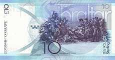 Гибралтар: 10 фунтов 2010 г.