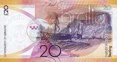 Гибралтар: 20 фунтов 2011 г.