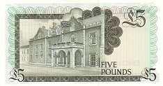Гибралтар: 5 фунтов 1988 г.