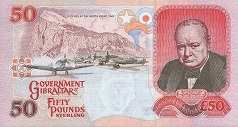 Гибралтар: 50 фунтов 2006 г.