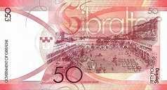 Гибралтар: 50 фунтов 2010 г.