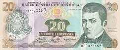 Гондурас: 20 лемпир 2004-08 г.