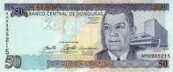 Гондурас: 50 лемпир 2004-10 г.